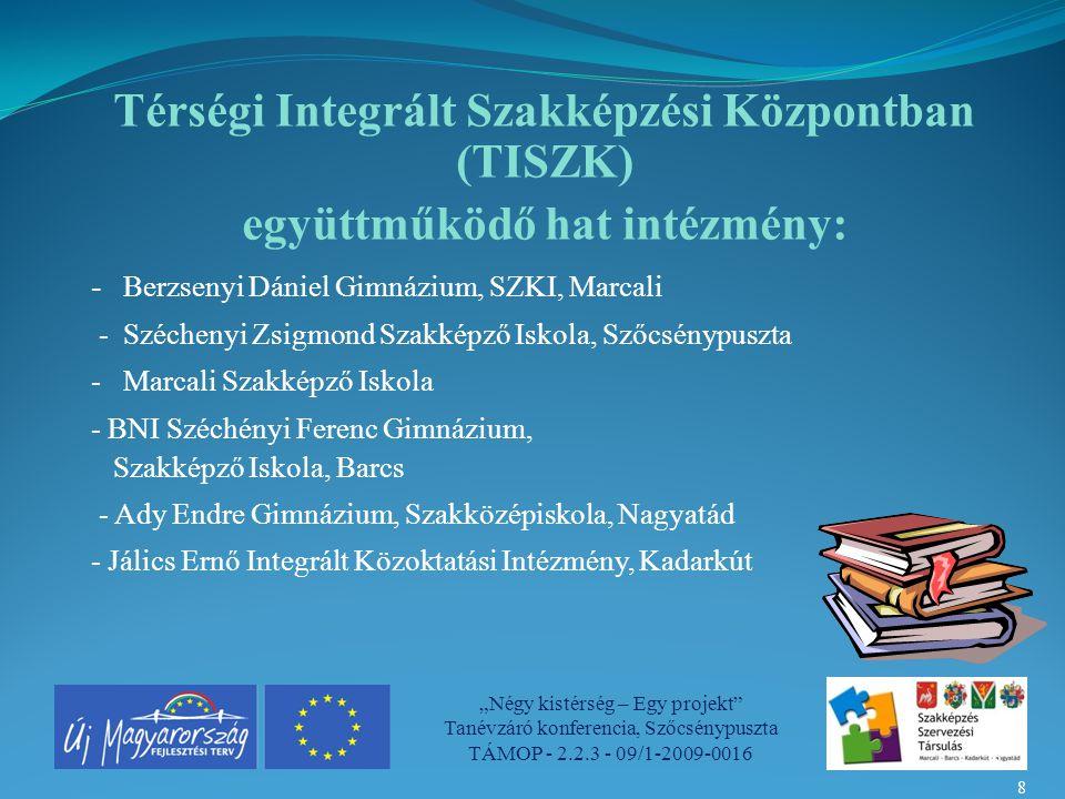 Térségi Integrált Szakképzési Központban (TISZK)