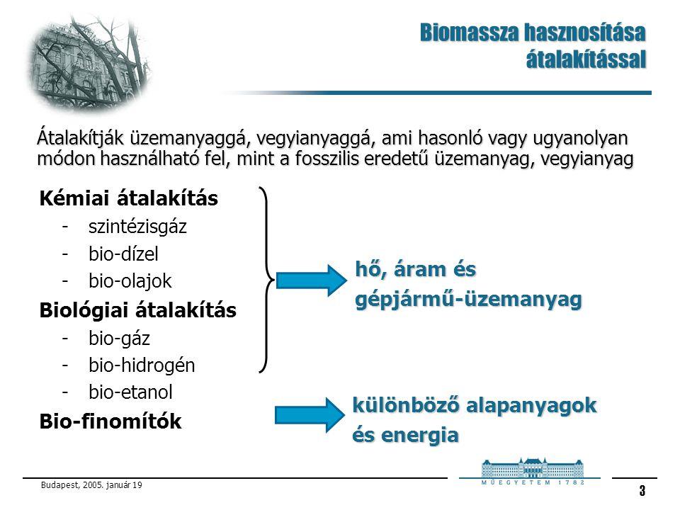 Biomassza hasznosítása átalakítással