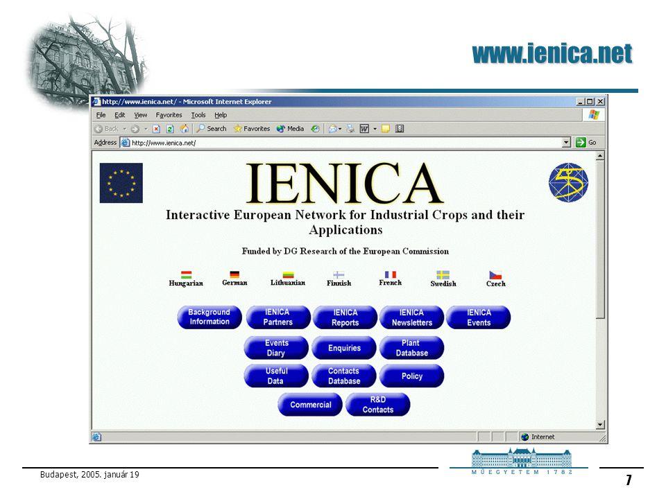 www.ienica.net Budapest, 2005. január 19