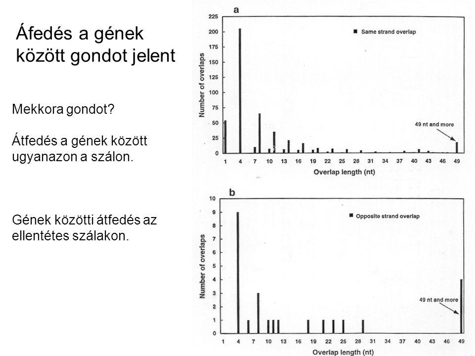 Áfedés a gének között gondot jelent