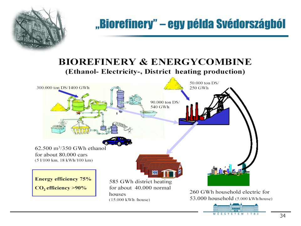 """""""Biorefinery – egy példa Svédországból"""