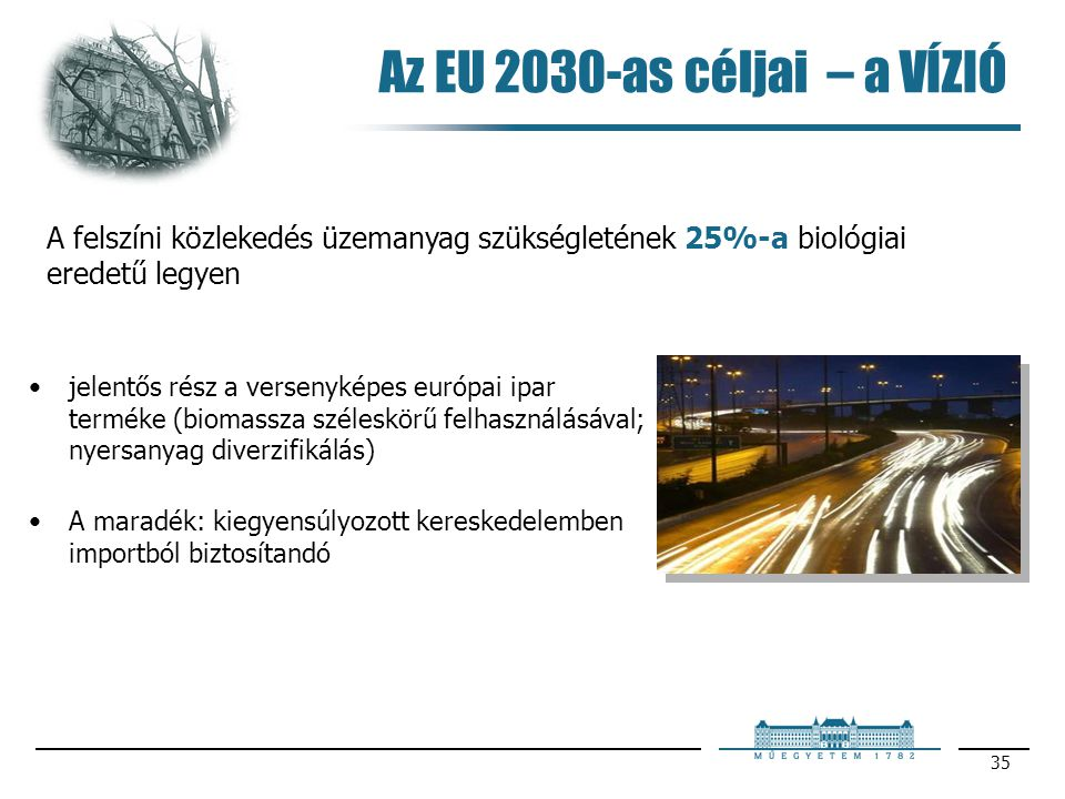 Az EU 2030-as céljai – a VÍZIÓ