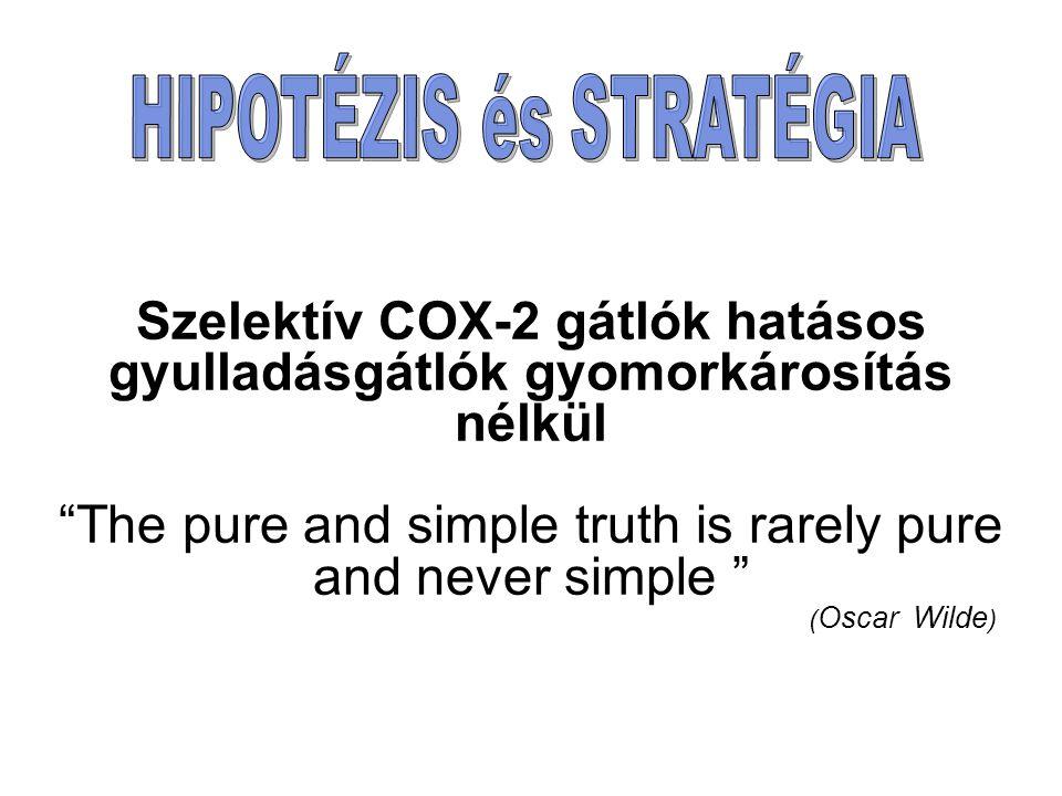 Szelektív COX-2 gátlók hatásos gyulladásgátlók gyomorkárosítás nélkül