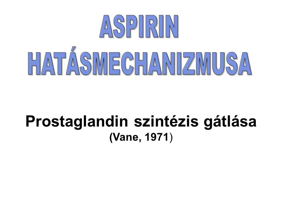 Prostaglandin szintézis gátlása