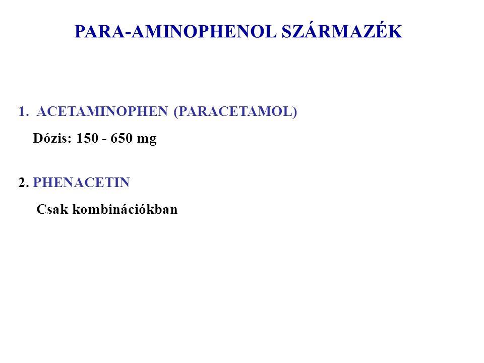 PARA-AMINOPHENOL SZÁRMAZÉK