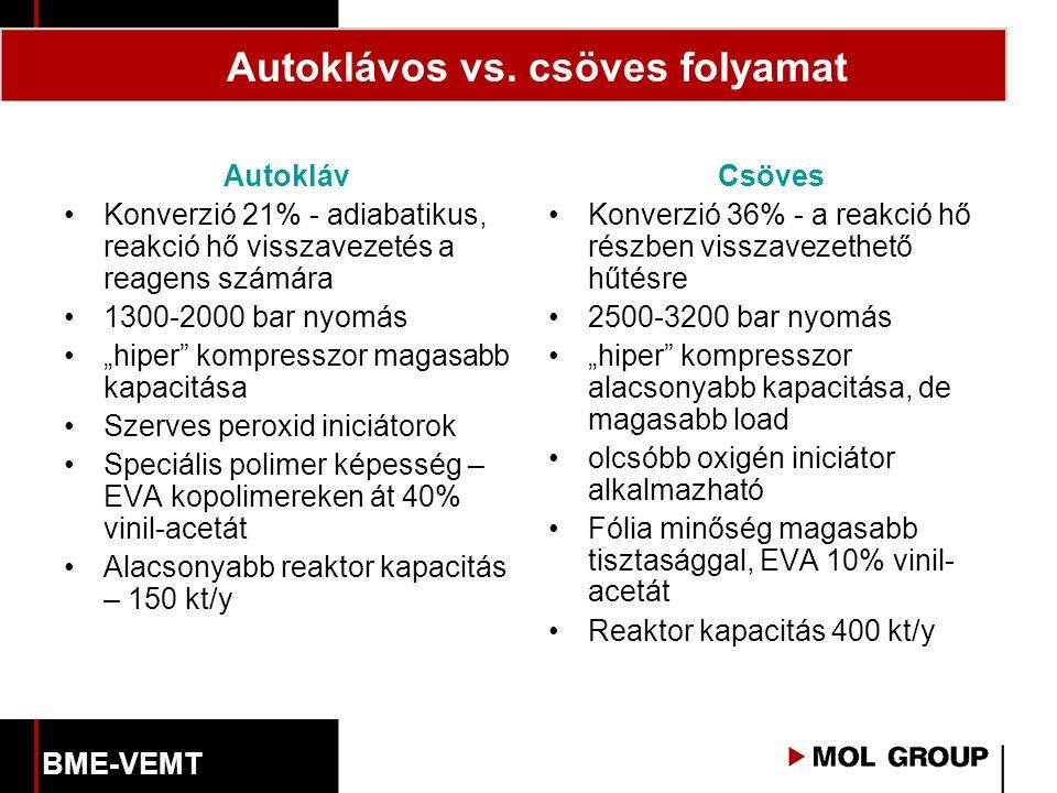 Autoklávos vs. csöves folyamat