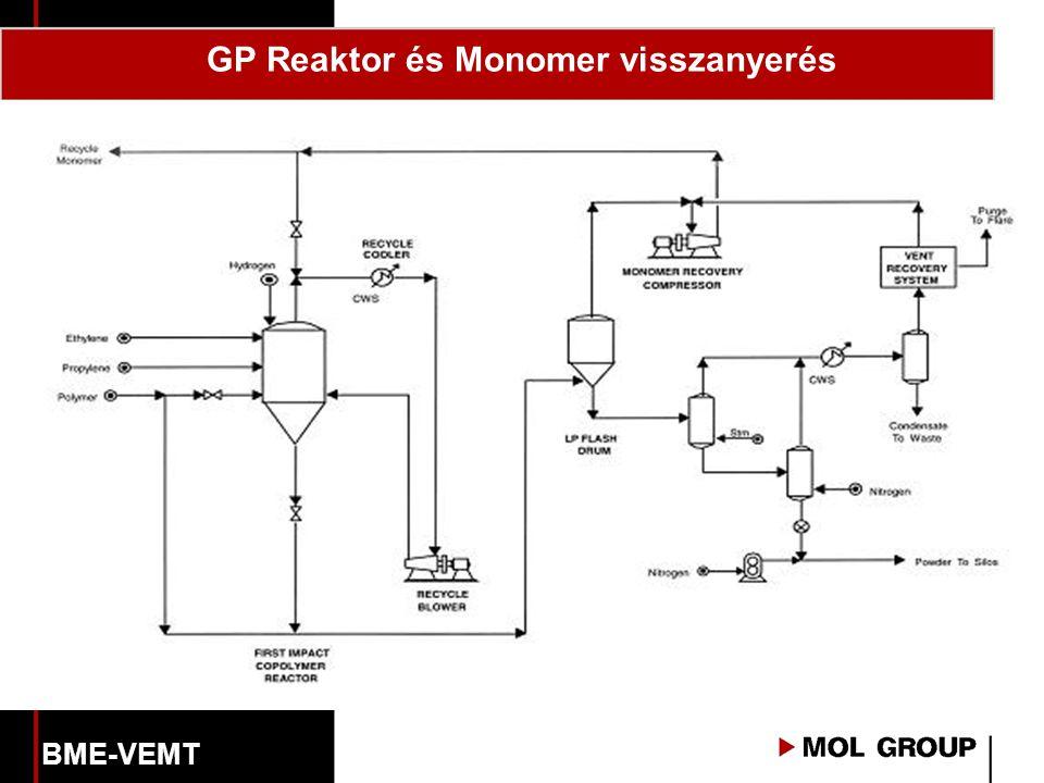 GP Reaktor és Monomer visszanyerés