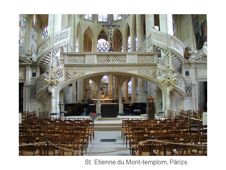 St. Etienne du Mont-templom, Párizs