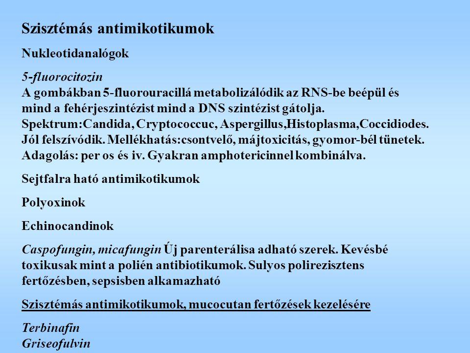 Szisztémás antimikotikumok