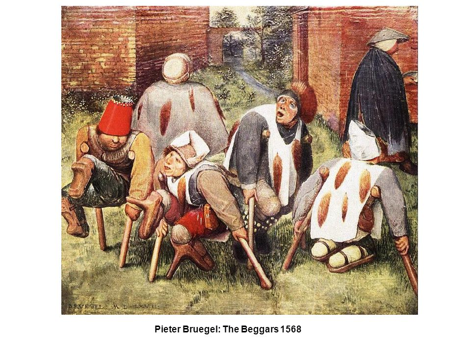 Pieter Bruegel: The Beggars 1568