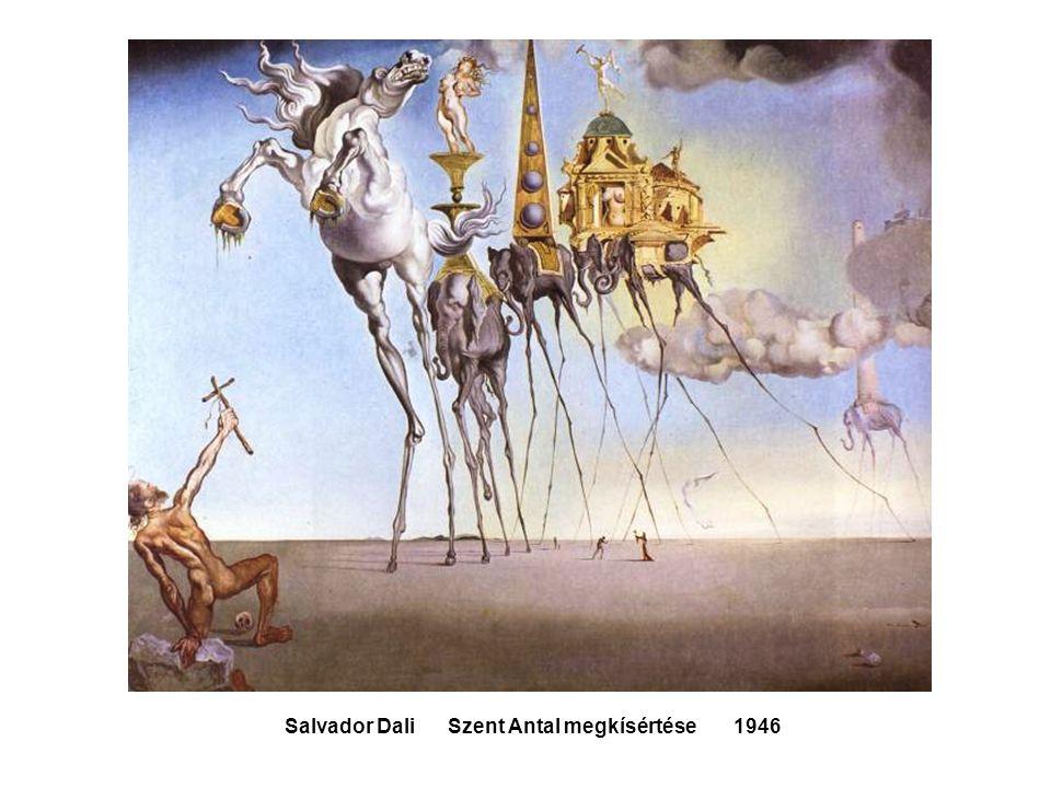 Salvador Dali Szent Antal megkísértése 1946