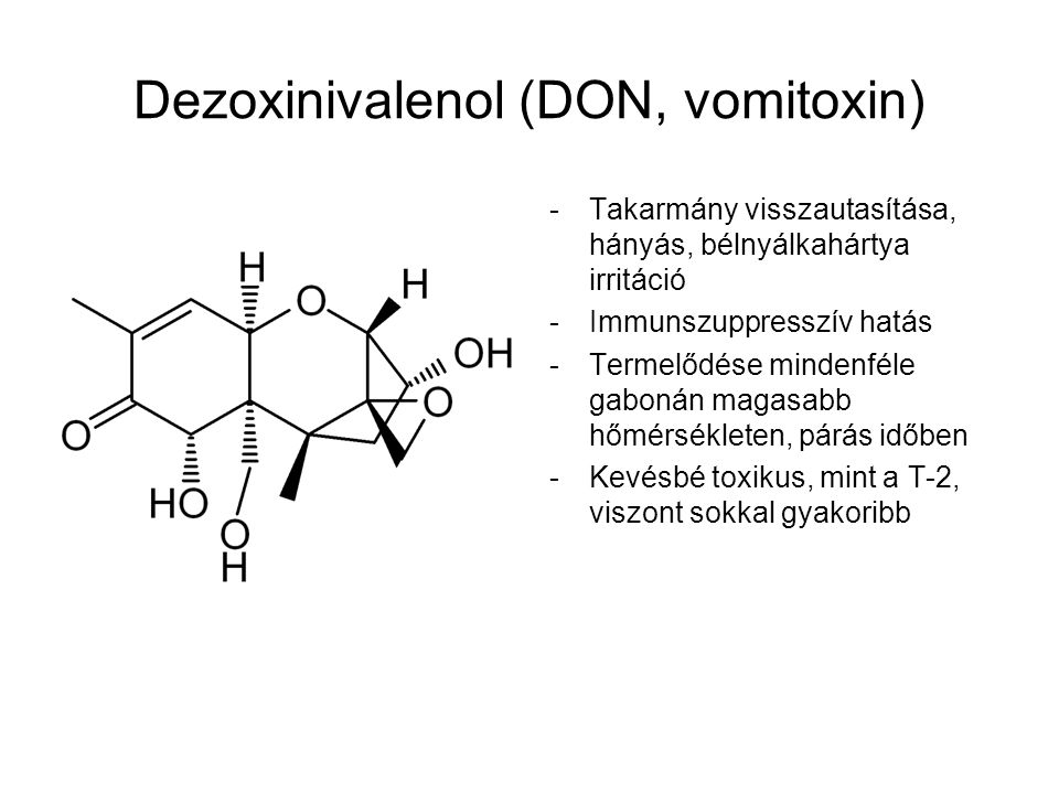 Dezoxinivalenol (DON, vomitoxin)