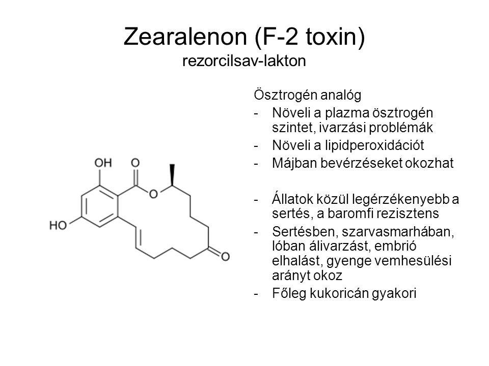 Zearalenon (F-2 toxin) rezorcilsav-lakton