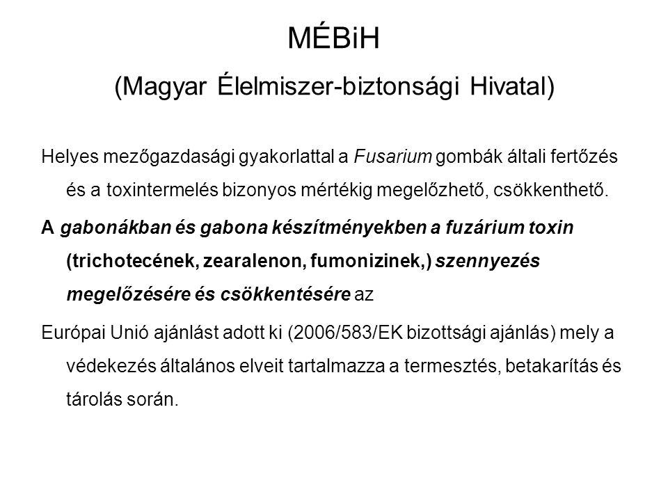 MÉBiH (Magyar Élelmiszer-biztonsági Hivatal)