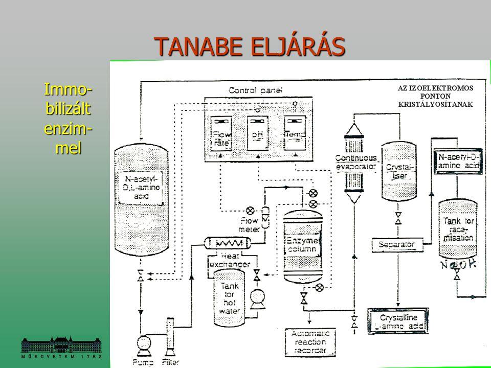 Immo-bilizált enzim- mel