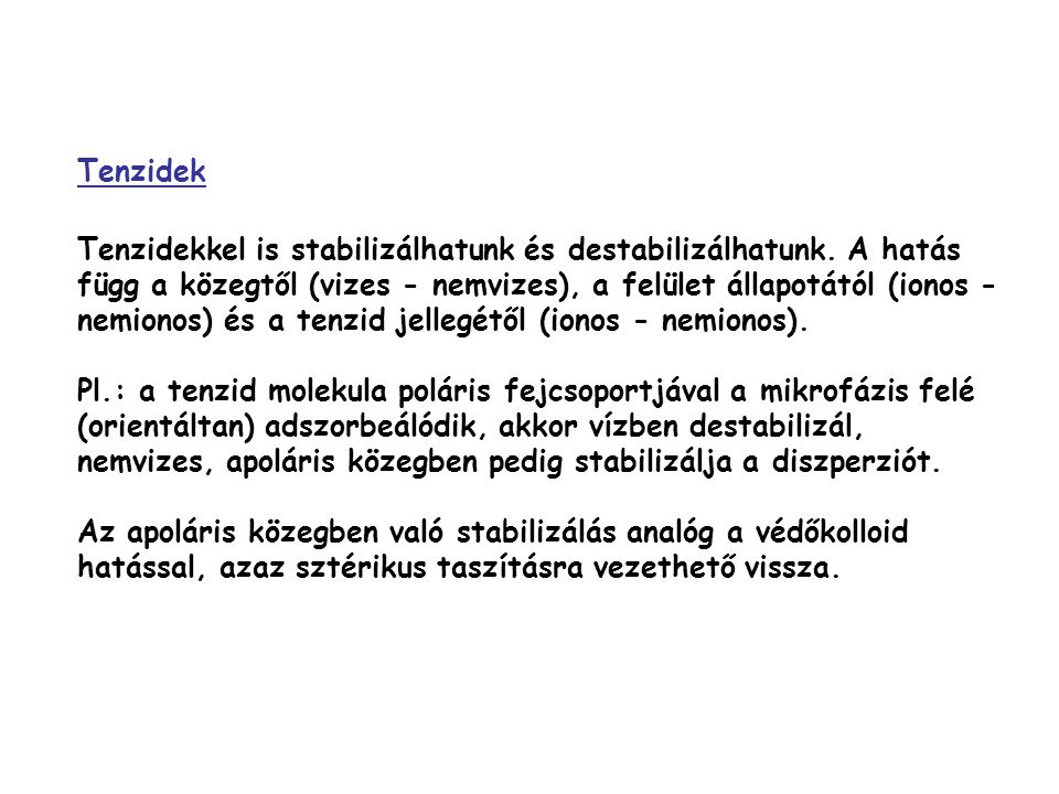 Tenzidek