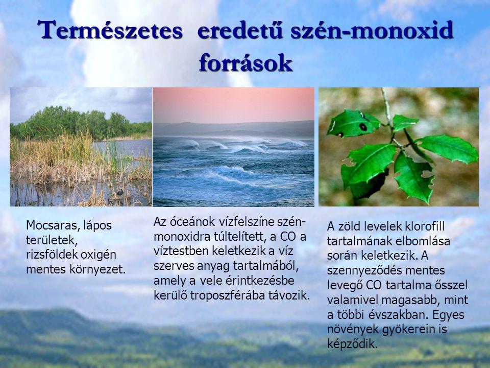 Természetes eredetű szén-monoxid források