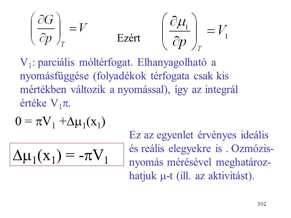 Dm1(x1) = -pV1 0 = pV1 +Dm1(x1) Ezért