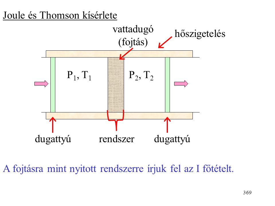 Joule és Thomson kísérlete