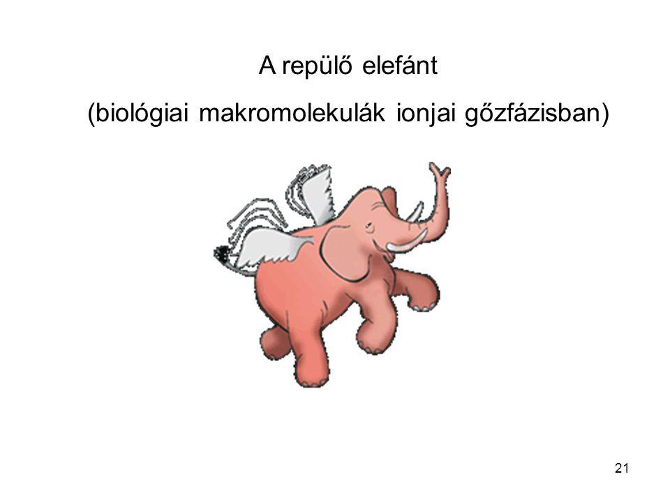 (biológiai makromolekulák ionjai gőzfázisban)