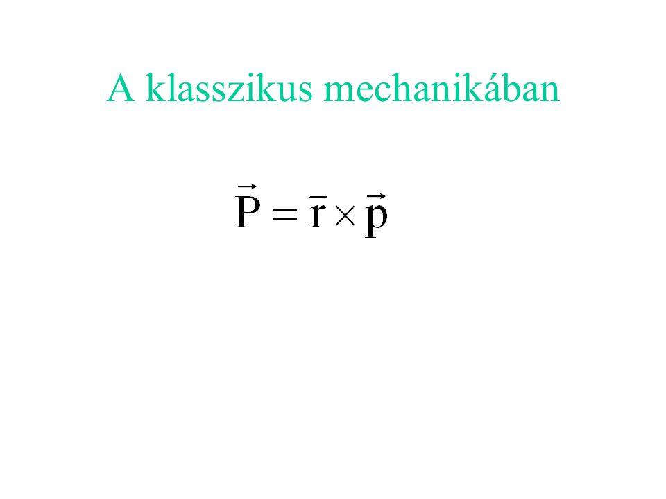 A klasszikus mechanikában
