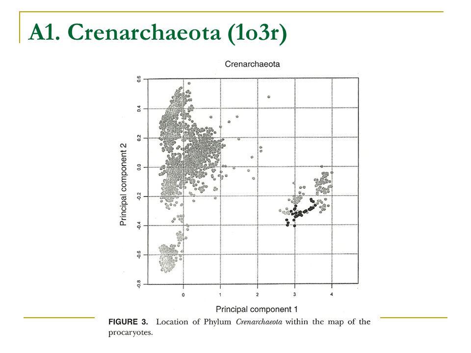 A1. Crenarchaeota (1o3r)