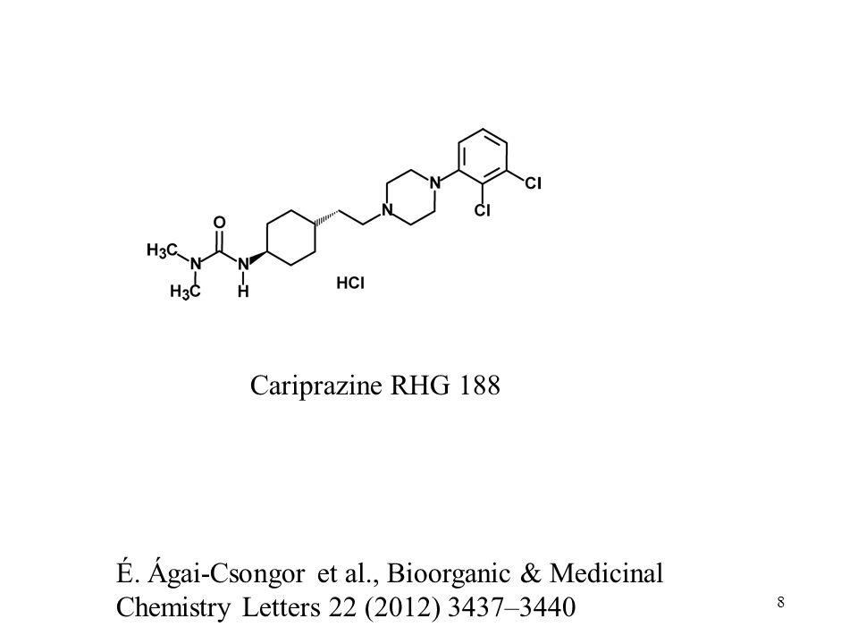 Cariprazine RHG 188 É.