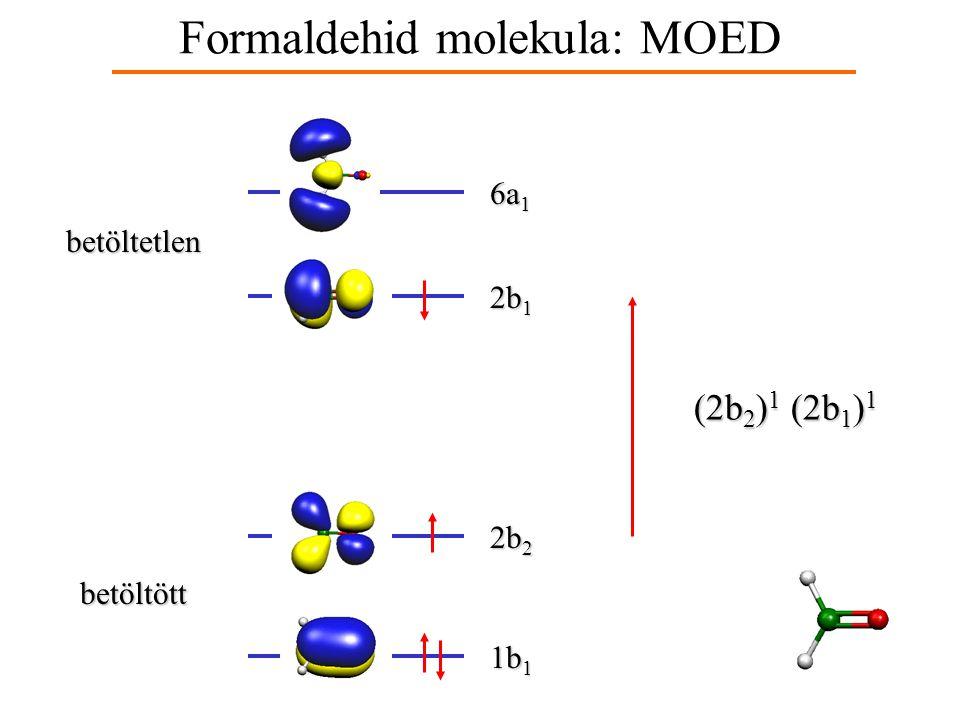 Formaldehid molekula: MOED