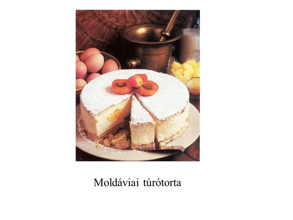 Moldáviai túrótorta