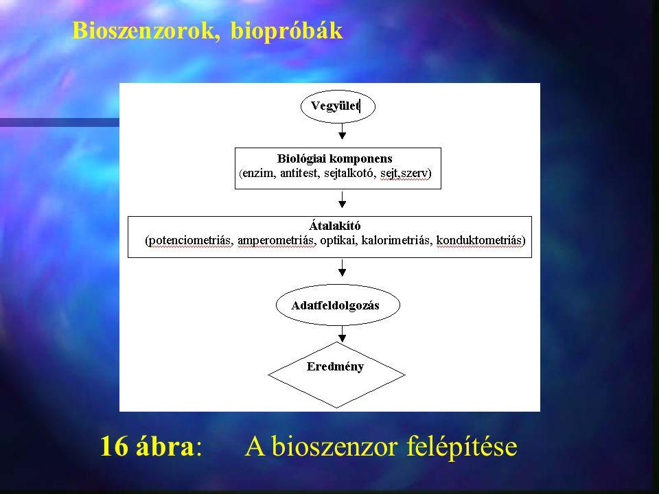 16 ábra: A bioszenzor felépítése