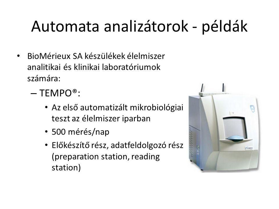 Automata analizátorok - példák