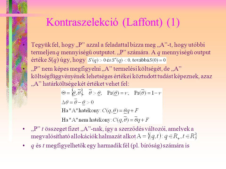 Kontraszelekció (Laffont) (1)