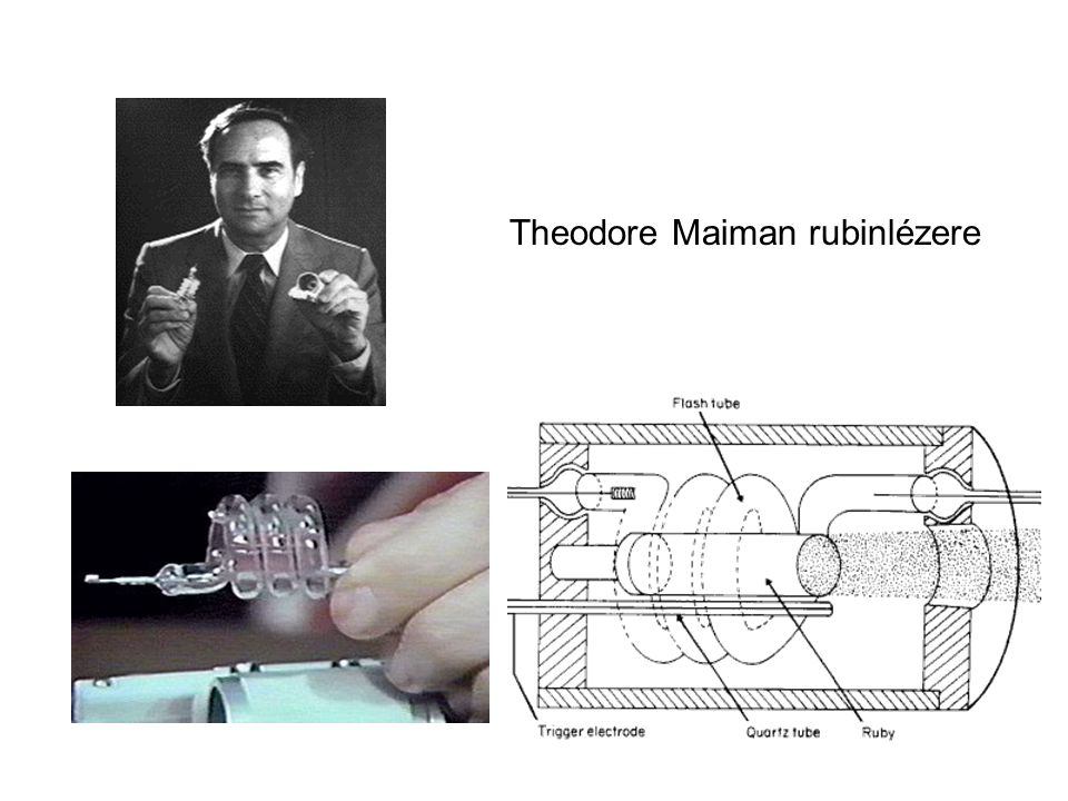 Theodore Maiman rubinlézere