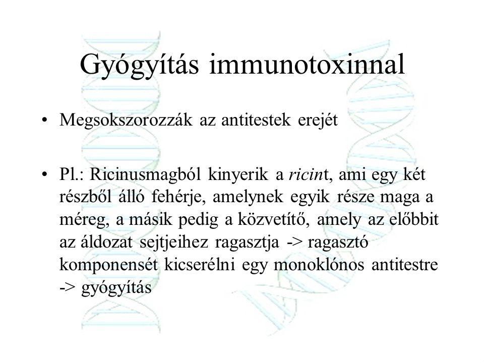 Gyógyítás immunotoxinnal