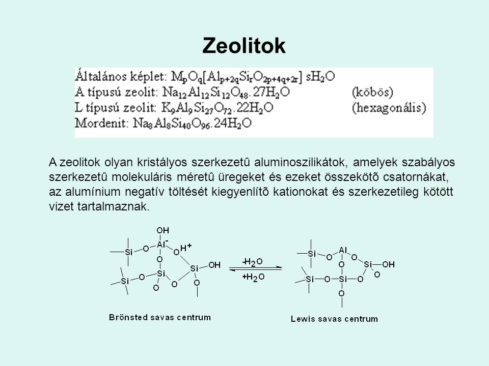 Zeolitok