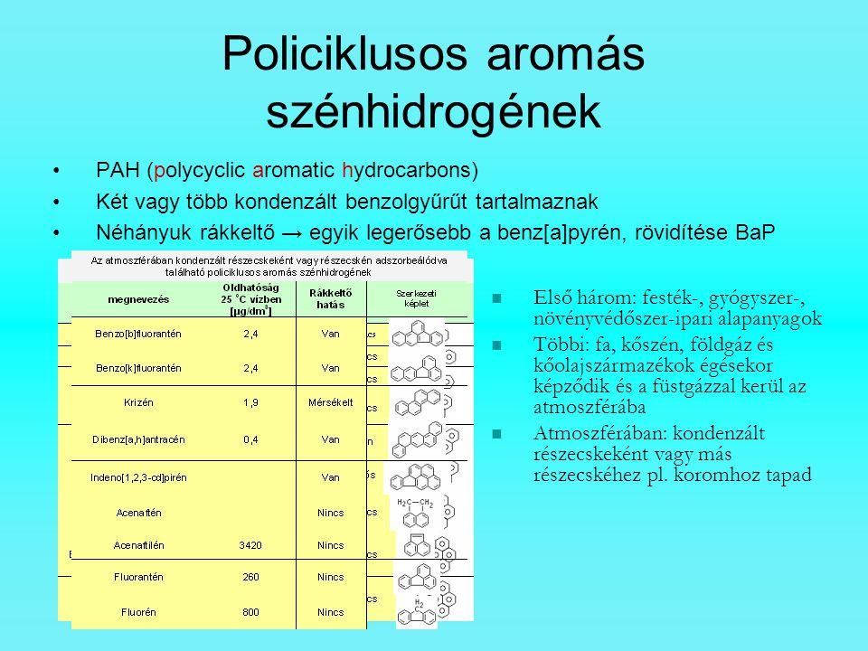 Policiklusos aromás szénhidrogének