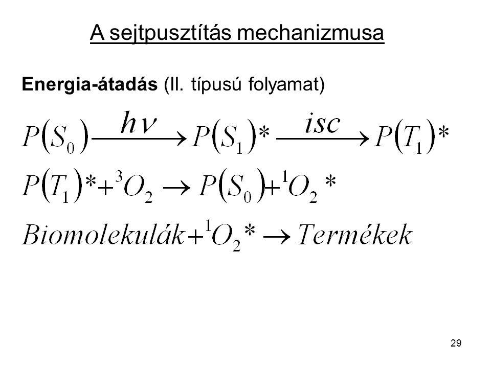 A sejtpusztítás mechanizmusa