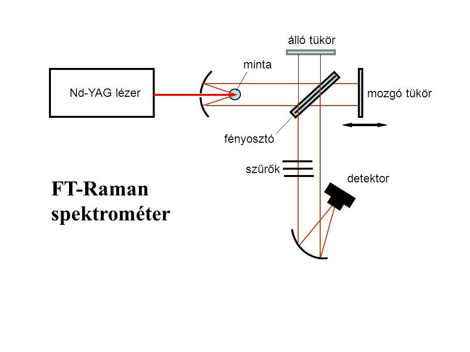 FT-Raman spektrométer