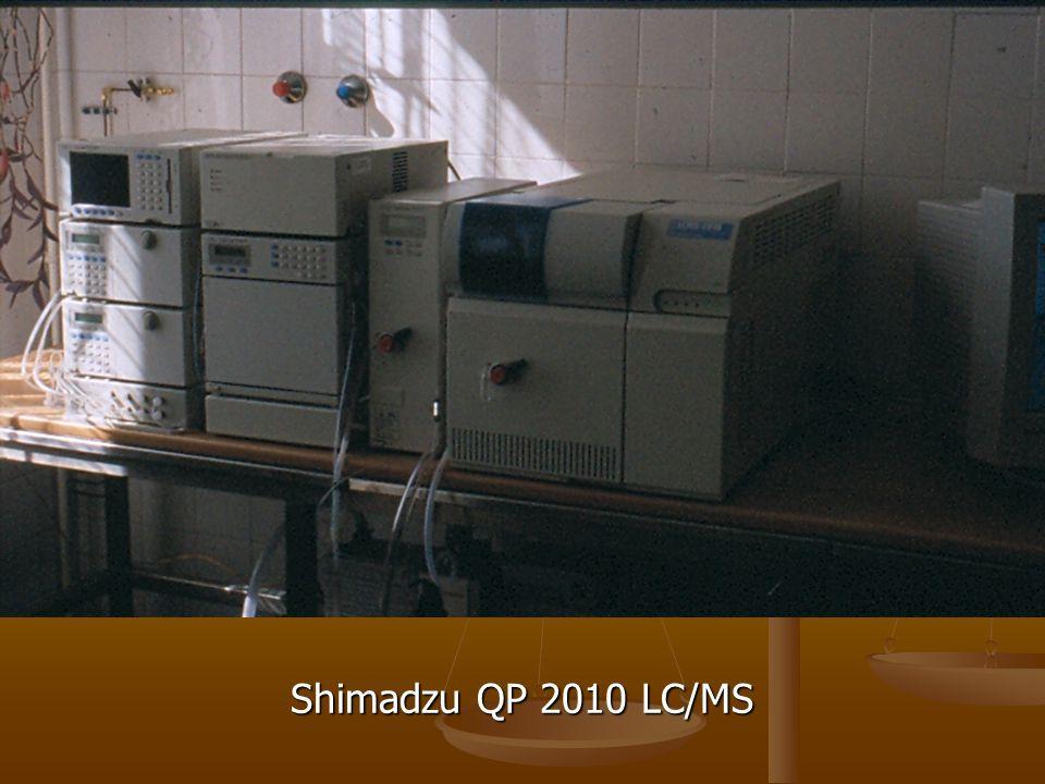 Shimadzu QP 2010 LC/MS