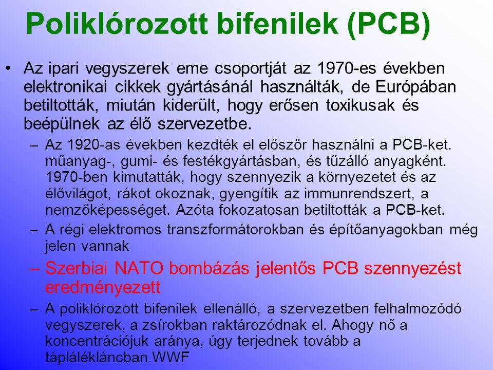 Poliklórozott bifenilek (PCB)