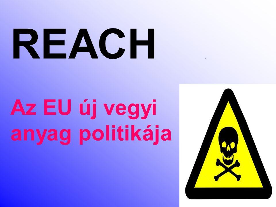 REACH , Az EU új vegyi anyag politikája