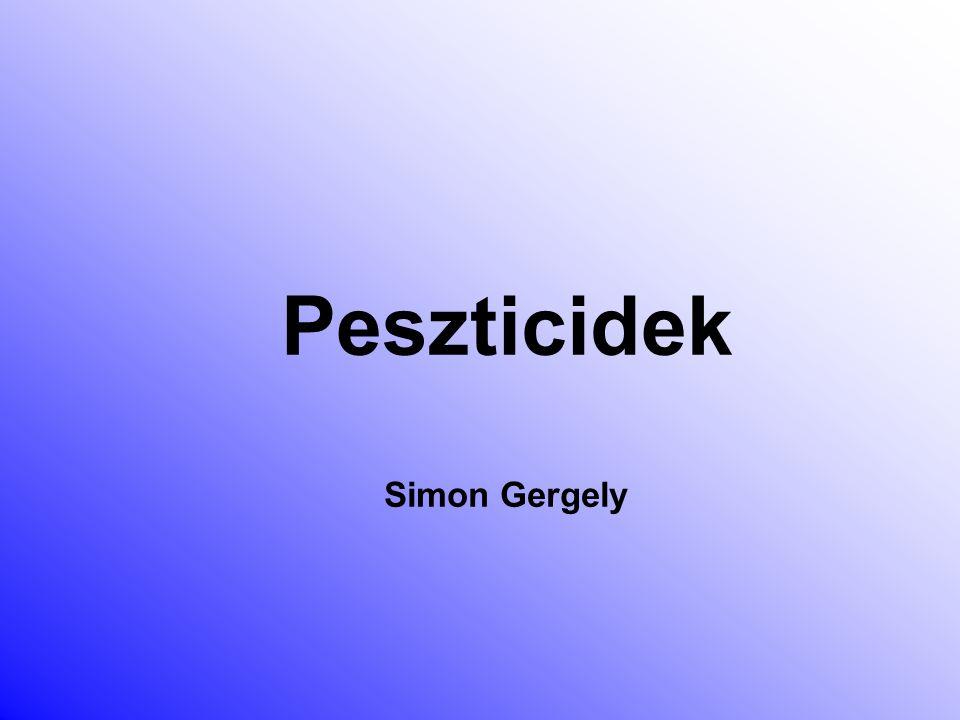 Peszticidek Simon Gergely