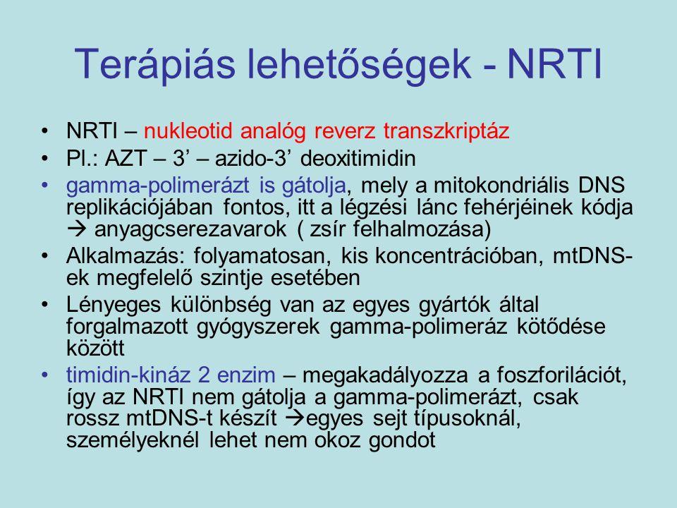 Terápiás lehetőségek - NRTI
