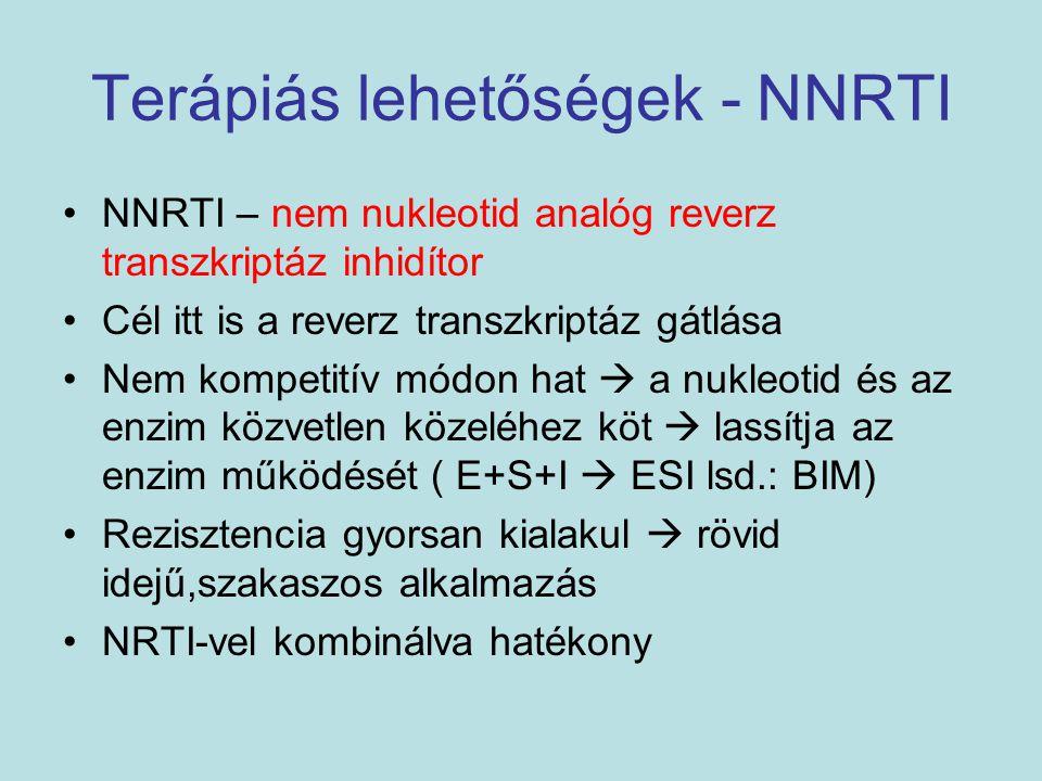 Terápiás lehetőségek - NNRTI