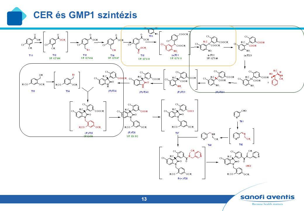 CER és GMP1 szintézis