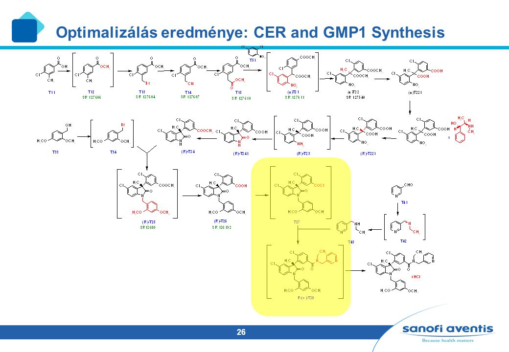 Optimalizálás eredménye: CER and GMP1 Synthesis