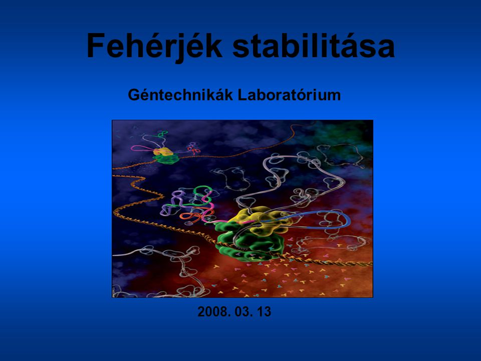 Géntechnikák Laboratórium