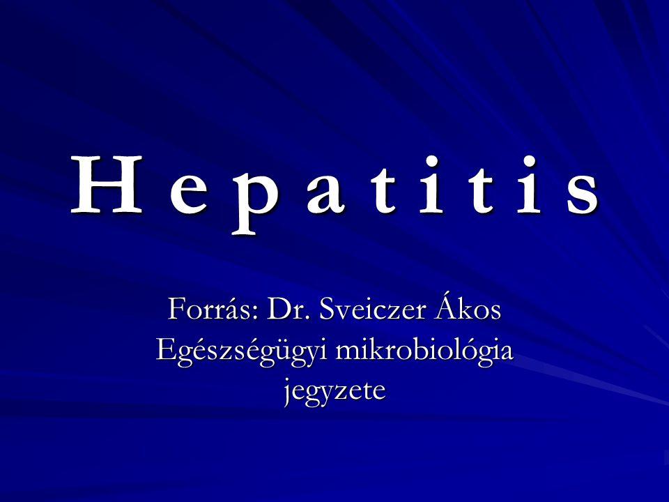Forrás: Dr. Sveiczer Ákos Egészségügyi mikrobiológia jegyzete