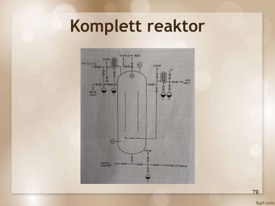 Komplett reaktor