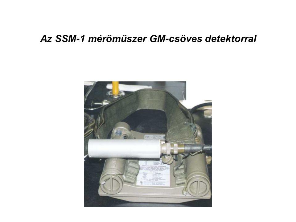 Az SSM-1 mérőműszer GM-csöves detektorral